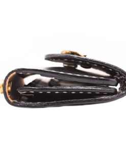 70's Wallet Long Flat - Black Ring