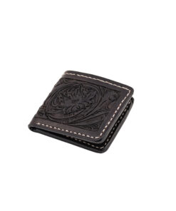 70's Wallet Pocket Flat - Black