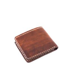 70's Wallet Pocket Flat - Brown