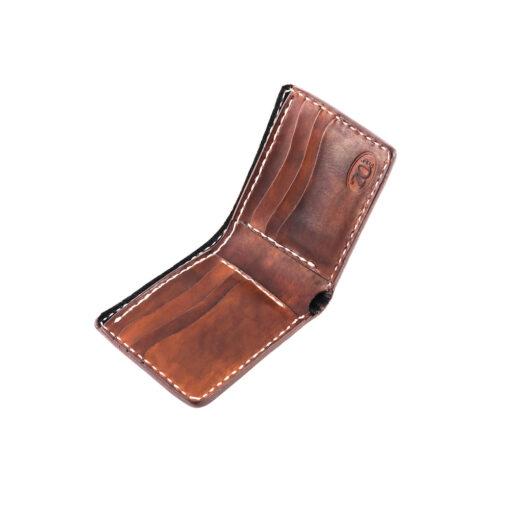 70's Wallet Pocket Flat - Brown Interior