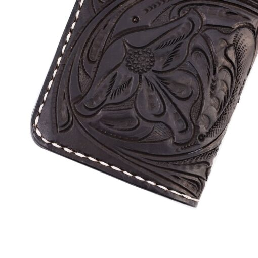 70's Wallet Shorty Engraved - Black Details