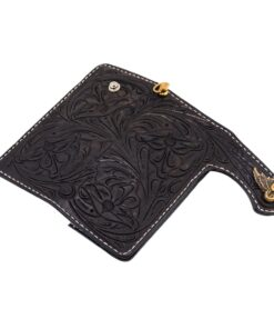 70's Wallet Shorty Engraved - Black Exterior