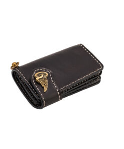 70's Wallet Shorty Flat - Black Down