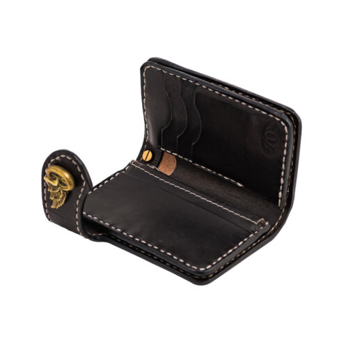 70's Wallet Shorty Flat - Black Interior