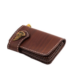 70's Wallet Shorty Flat - Brown