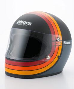 Blauer 80's Helmet - Black Matt