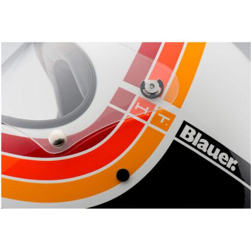 Blauer 80's Helmet - White Visor