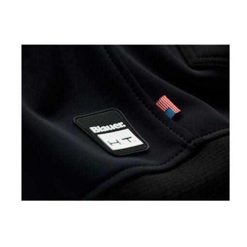 Blauer Easy Man 1.0 Jacket Black Asphalt Logo