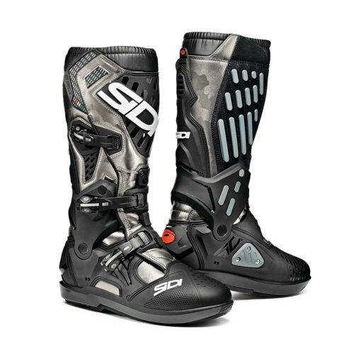 Sidi Atojo SRS Boots - Black Grey