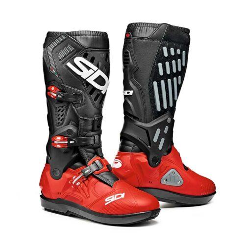 Sidi Atojo SRS Boots - Black Red