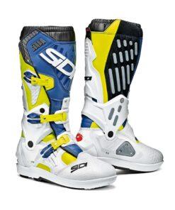 Sidi Atojo SRS Boots - White Blue