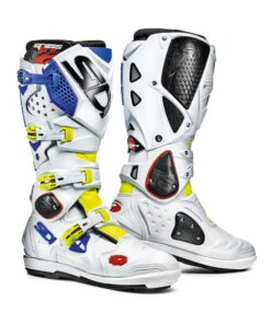 Sidi Crossfire 2 SRS Boots - White Blue