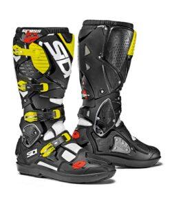 Sidi Crossfire 3 SRS Boots - Black Yellow
