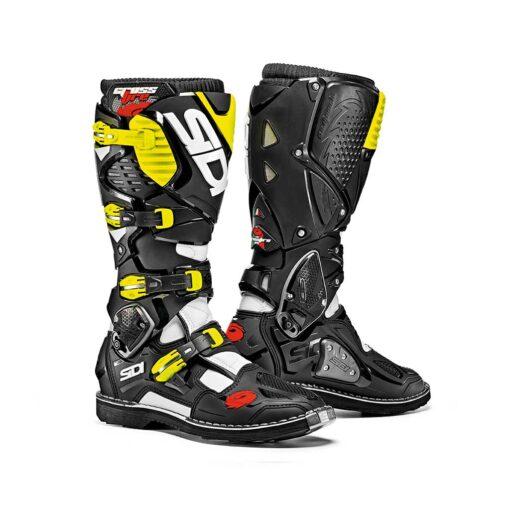 Sidi Crossfire 3 Boots - Black Yellow