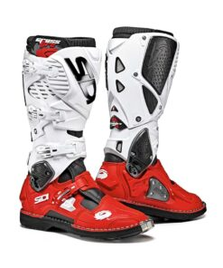 Sidi Crossfire 3 Boots - White Red