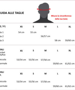 DMD Helmets - Size Chart
