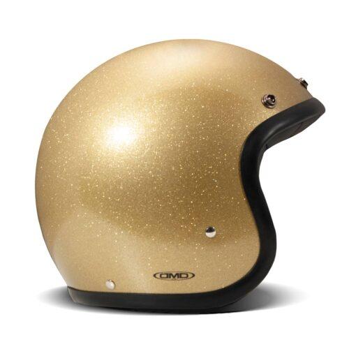 DMD Vintage Helmet - Glitter Gold DX
