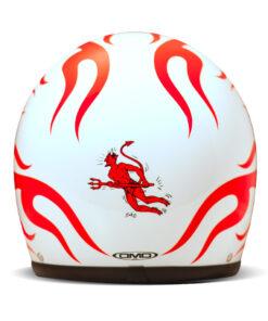 DMD Vintage Helmet - Hell Rear