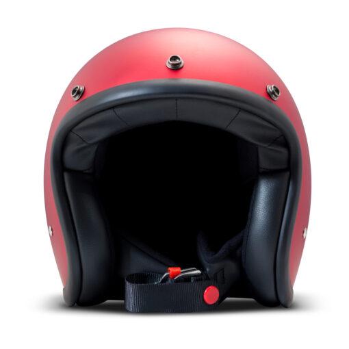 DMD Vintage Helmet - Metallic Red Front