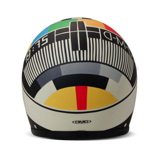 DMD Vintage Helmet - No Signal Rear