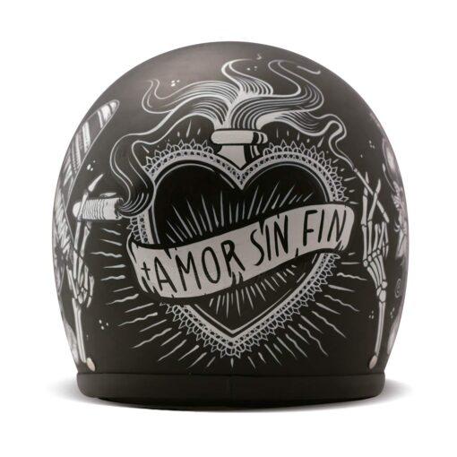 DMD Vintage Helmet - Sin Fin Rear