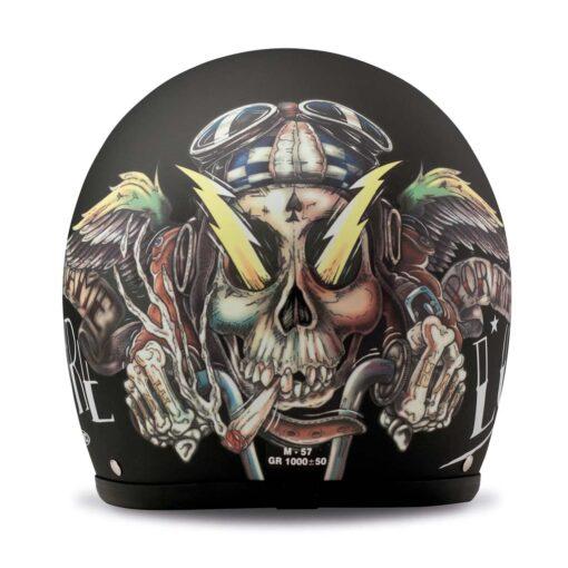 DMD Vintage Helmet - Vida Loca Rear
