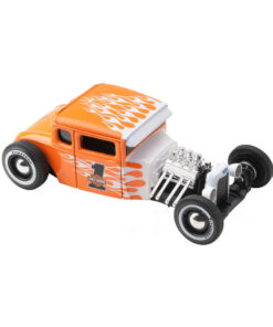 1929 Ford Model A Harley Davidson Orange Flames - Scale 1:24 Maisto Details
