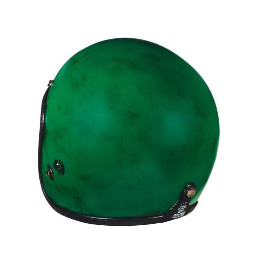 70's Helmets Pastello Dirty Green Rear SX