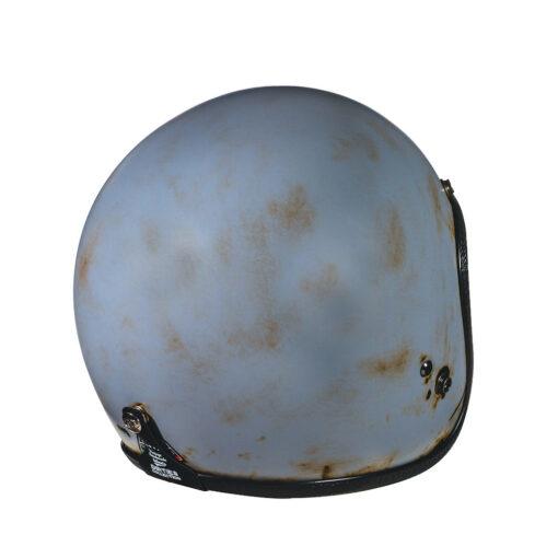 70's Helmets Pastello Dirty Grey Rear DX