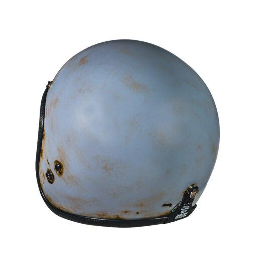 70's Helmets Pastello Dirty Grey Rear SX