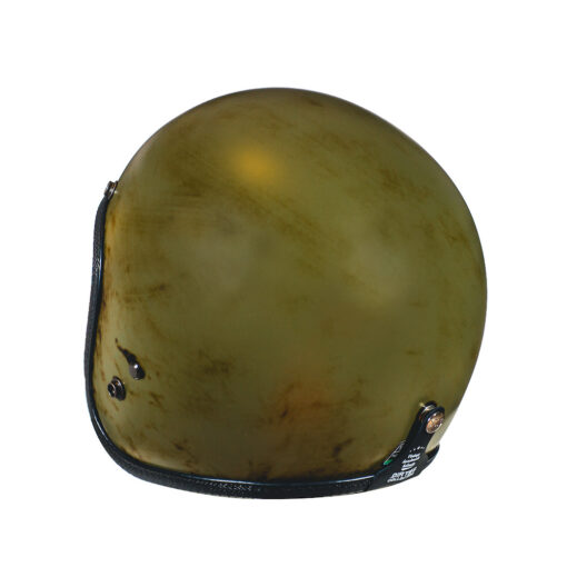 70's Helmets Pastello Dirty Olive Rear SX