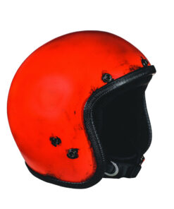 70's Helmets Pastello Dirty Red DX