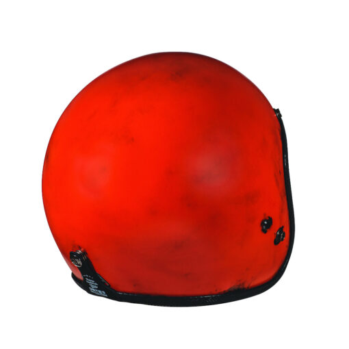 70's Helmets Pastello Dirty Red Rear DX