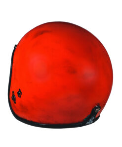 70's Helmets Pastello Dirty Red Rear SX