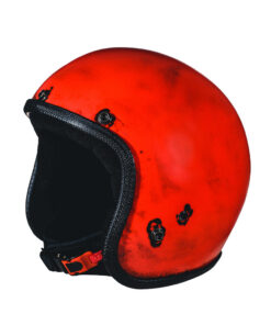 70's Helmets Pastello Dirty Red SX
