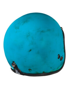 70's Helmets Pastello Dirty Turquoise Rear DX