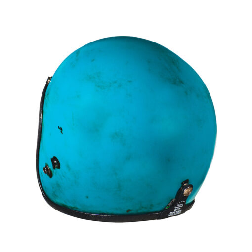 70's Helmets Pastello Dirty Turquoise Rear SX