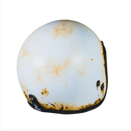 70's Helmets Pastello Dirty White Rear DX
