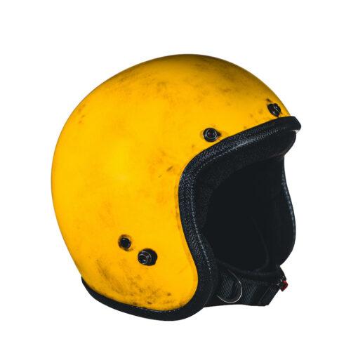 70's Helmets Pastello Dirty Yellow DX