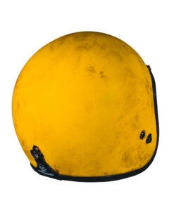 70's Helmets Pastello Dirty Yellow Rear DX