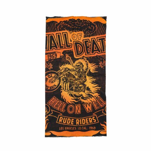 70s Neck Warmer - Rude Riders Wall of Death Front