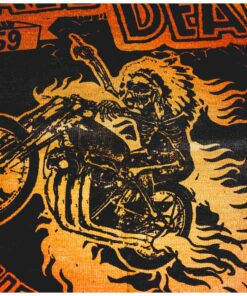 70s Neck Warmer - Rude Riders Wall of Death Zoom