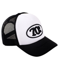 70s Trucker Cap Black White DX