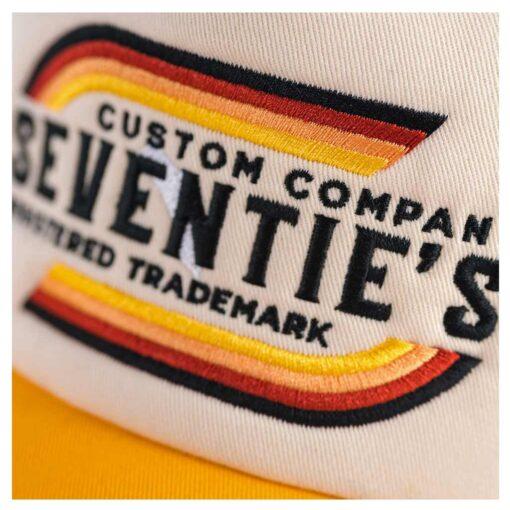 70s Trucker Cap Trademark Details