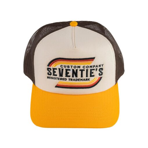 70s Trucker Cap Trademark Front