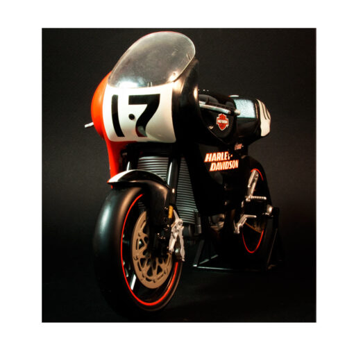 Harley Davidson- VR 1000 Scale motorcycle Front
