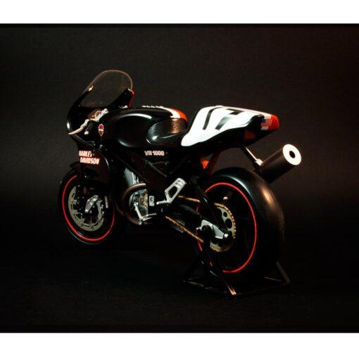 Harley Davidson- VR 1000 Scale motorcycle Rear