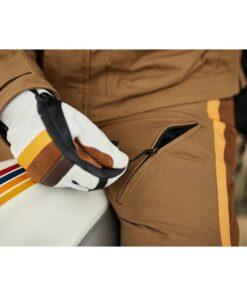 Fuel Rally Marathon Pants Zip Details