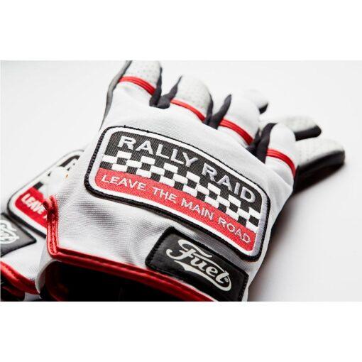Fuel Rally Raid Glove Patch Logo