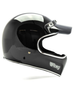 Roeg Peruna Helmet - Black Gloss DX